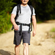 Man with backpack — Stock Photo #30058585