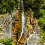 The beautiful Apa Spanzurata waterfall in the Latoritei gorge — Stock Photo