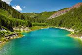 Galbenu lake in Parang mountains — Stock Photo