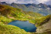 Lake Capra in Romania — Stock Photo
