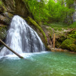 The beautiful Evantai waterfall from Galbenei Gorge — Stock Photo #33515287