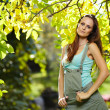 Beautiful woman in the park — Stock Photo #36215151