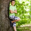 Teenager in the forest — Stock Photo #38427679