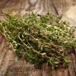 Stock Photo: Thyme twigs