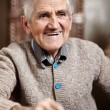 Happy 80 years old man — Stock Photo