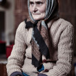 Old woman indoors — Stock Photo #40176769