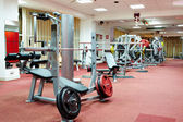 Interior of a gym — Foto de Stock