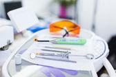 Closeup of dental tools — Stock Photo
