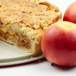 Crumble apple pie — Stock Photo