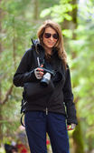 Turista con cámara — Foto de Stock