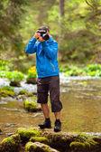 Photographer outdoor — Stock Photo
