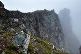 Misty mountains — Stock Photo