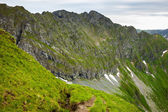 Fagaras mountains in Romania — Stock fotografie