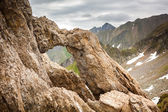 Dragons' Gate in Romanian mountains — Stock Photo