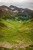 Hiking trail in the Romanian mountains — 图库照片