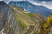 Fagaras mountains in Romania — Stok fotoğraf