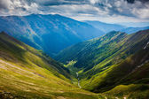 Fogarascher gebirge in rumänien — Stockfoto
