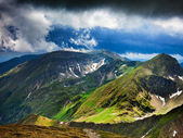 Fagaras mountains in Romania — Photo