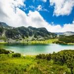 Lake Calcescu in Romanian — Stock Photo