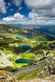 Lake Calcescu in Romanian — Foto Stock