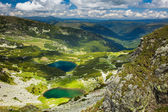 Lake Calcescu in Romanian — Stock Photo