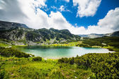 Lake Calcescu in Romanian — Stockfoto