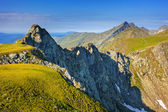 Fagaras mountains in Romania — Stock Photo