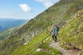 Teenage hiker — Stock Photo