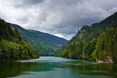 Lake Petrimanu in Romania — Stock Photo