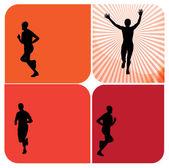 Runners — Stock Photo