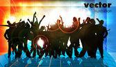 Musik event bakgrund. vektor eps10 illustration. — Stockvektor