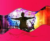 Music illustration — Stock Photo