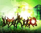 Dancing people — Stock Photo