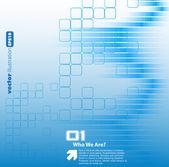 Information technique futuriste — Vecteur
