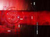 Futuristic technical background — Stock Vector