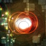 Futuristic technical background — Stock Photo #12822252