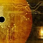 Futuristic technical background — Stock Vector #12823831