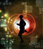 Runners — Stock Vector