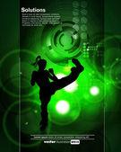Karate — Stock Vector