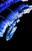 Futuristico background tecnico — Foto Stock