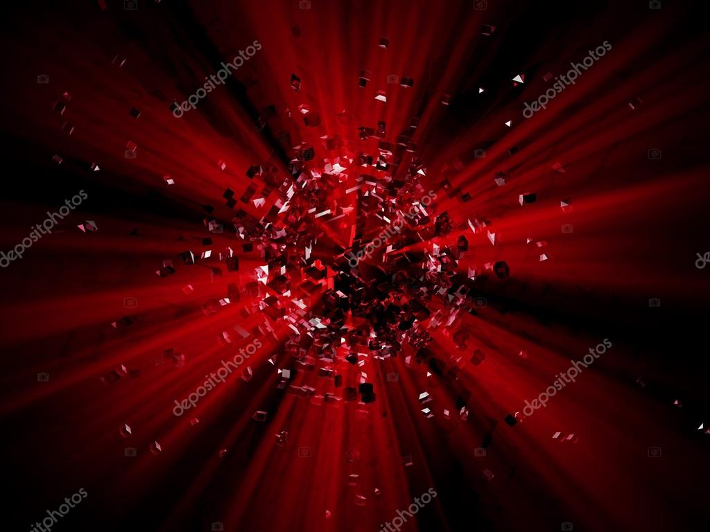 Red Particles Explosion by Catsence_ | VideoHive