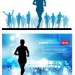 Runner — Stock Vector #13399987
