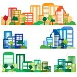 Urban landscape — Stock Vector