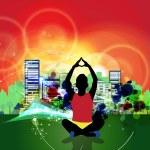 Yoga — Stock Photo #13655634
