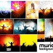 Party Vector Background — Stock Vector #13845661