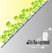 City background — Stock Vector