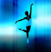 Balet. ilustracja — Zdjęcie stockowe