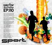 Runners — Stockvektor