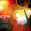 Music event background. Vector eps10 illustration. - Stockvektor