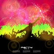 Stock Vector: Music event background. Vector eps10 illustration.